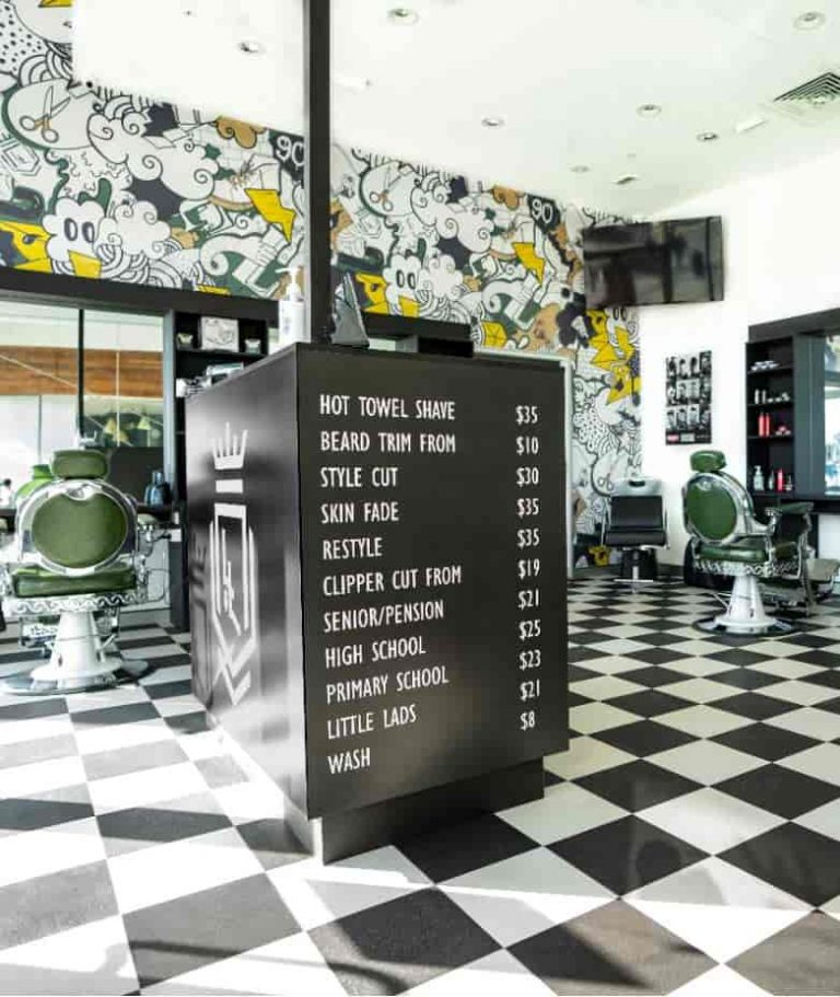 Barbers Shop Fitout in Perth WA