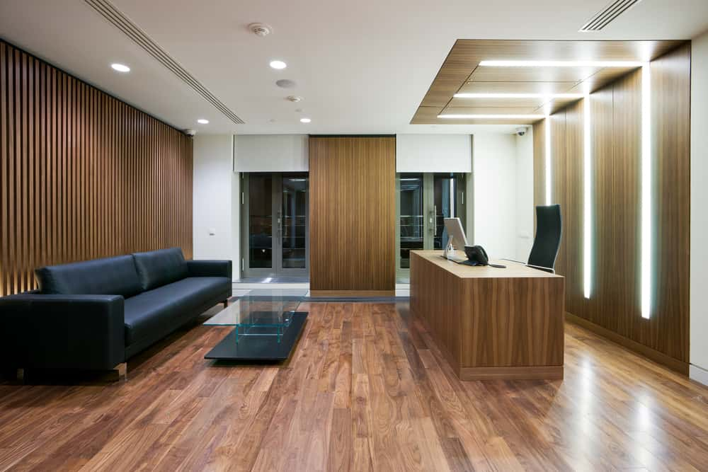 Reception Area of a Medical Fitout in Perth WA