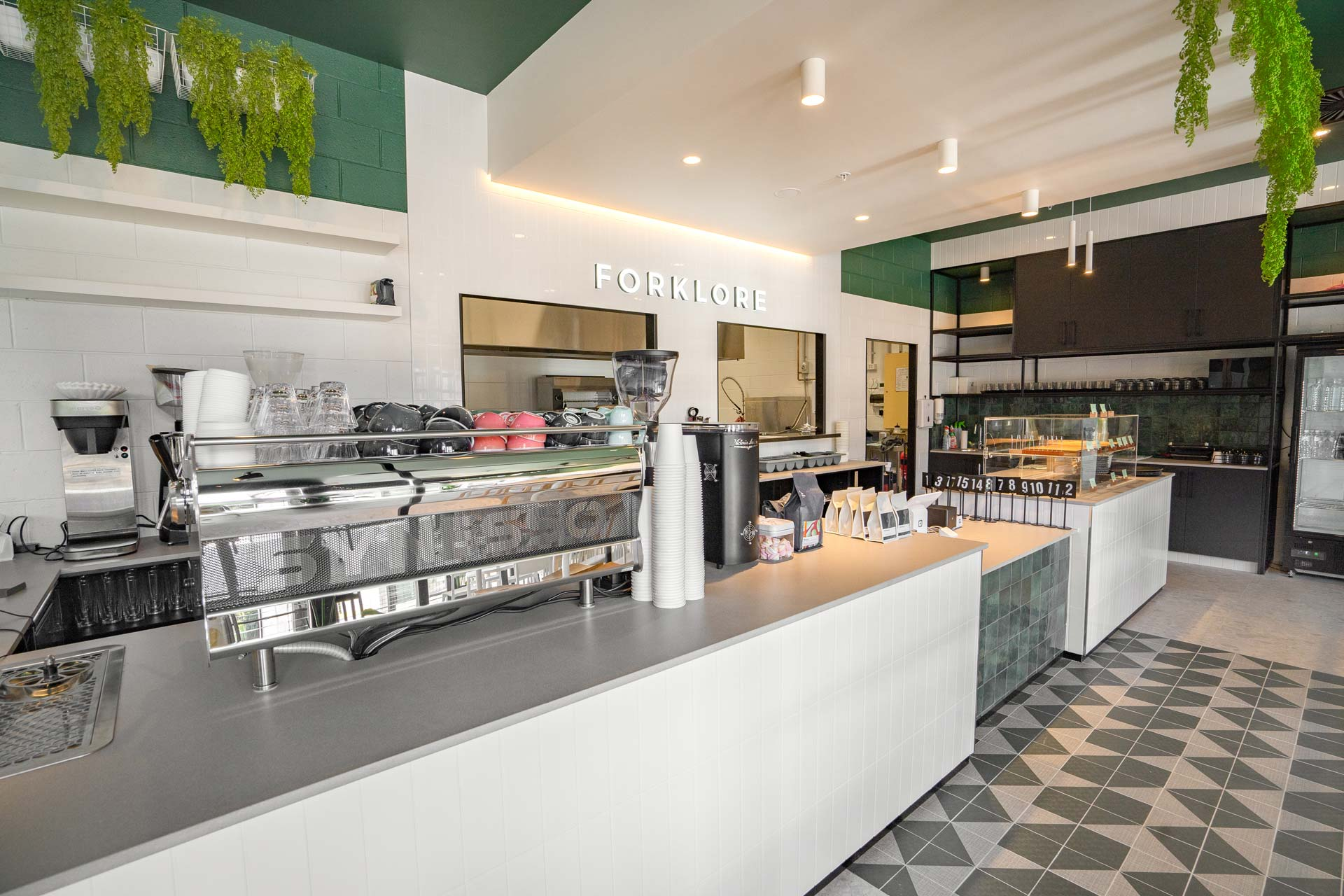 Forklore cafe fitout